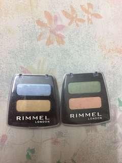 Authentic Rimmel London eyeshadow pallete