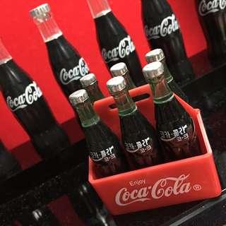 可口可樂 微型韓國可樂6枝連盤 哈迪斯出品