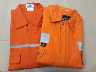 Coverall working clothes for men