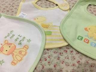 Baby Bibs - 3 pcs