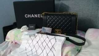 Chanel Leboy Real Leather Bag (Inspired No Authentic)