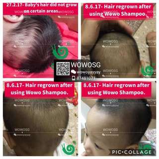[REVIEW] Safe for Babies - WOWO Pure Ginger Shampoo