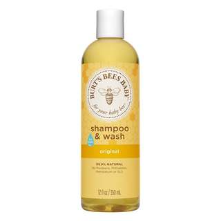 Burt's Bees Baby Bee Shampoo & Wash Original 12.0 oz (350ml)