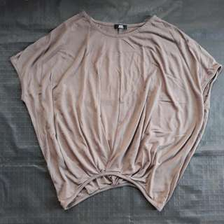 Brown Loose Style Top