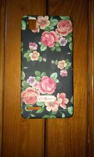 Soft case oppo F1 flower