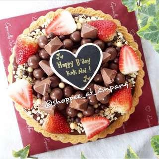 "Nutella Pie Tart (size 7"")"