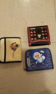 Assorted wallets Anna Sui