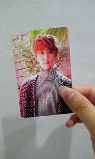 【WTT】SEVENTEEN TEEN,AGE ORANGE VER THE8 PHOTOCARD