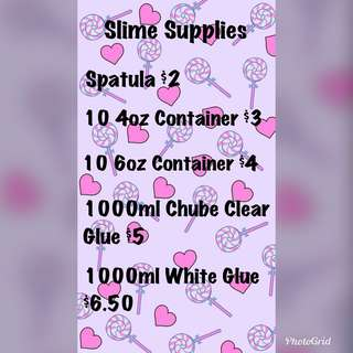 Slime Supplies (Borax)