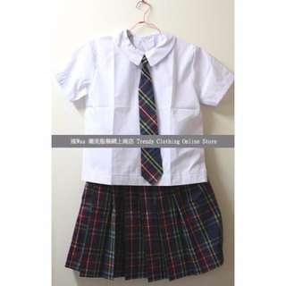 聖保祿學校 St Paul 夏季校服裙