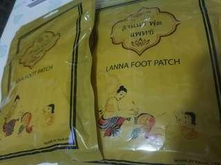 泰國 蘭納足貼 LANNA FOOT PATCH
