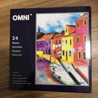 Omni Water Soluble Color Pencils