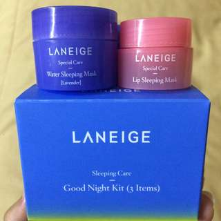 (preloved) LANEIGE Good Night Kit