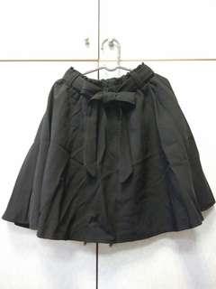 🚚 🎆黑色自帶安全褲傘狀短裙