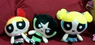 Power puff girl push toy