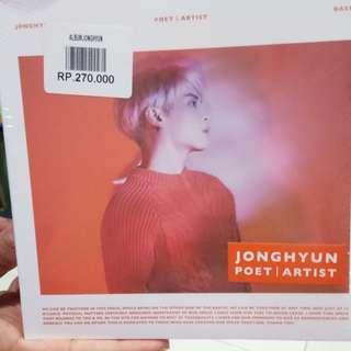Album Jonghyun Poet | Artist (SEALED)