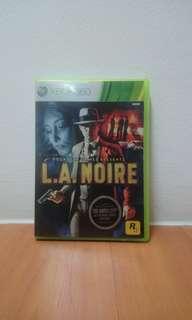 L. A Noire Xbox 360