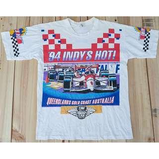 Vintage Indy's Hot Queensland Gold Coast Australia Tshirt