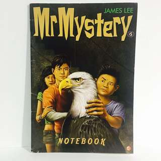 Mr Mystery Notebook