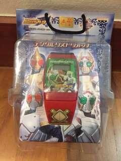 BNIP! Official BanPresto Masked Rider Garren Digital Watch