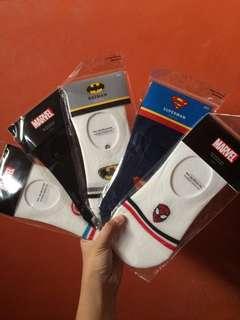 Marvel & DC Footsocks