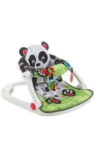 *instock * Fisher-Price Sit-Me-Up Floor Seat Panda Paws