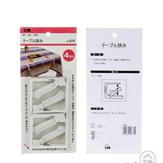 Table cloth clip