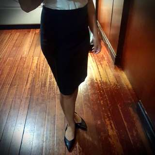Forever 21 Stretch Cotton Skirt