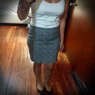 Old Navy Stretch Cotton Skirt