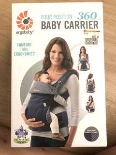Ergobaby 360 Baby Carrier (Dusty Blue)