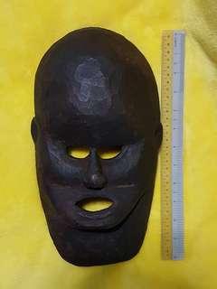 Old wooden masks