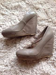 H&M Nude Wedges