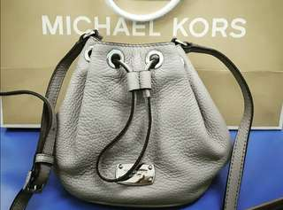Authentic Michael Kors Mini Jules Drawstring Crossbody