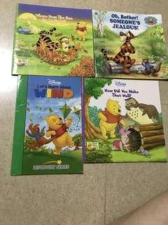 Walt Disney's WINNIE the Pooh (4 books)