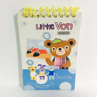 Little Von Notebook