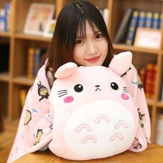 3 in 1 Couple Totoro Plushie
