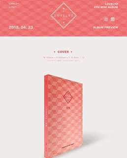 [Preorder] LOVELYZ 4th MINI ALBUM