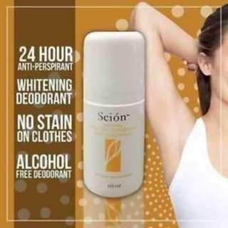 Scion Whitening Roll-on Deodorant (60mL)
