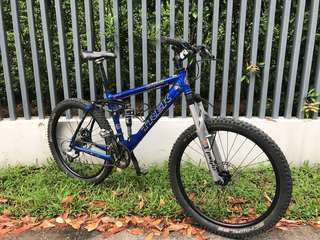 USA Trek Carbon Full suspension bike