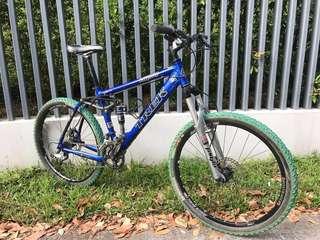 Affordable Carbon USA Trek Full suspension bike