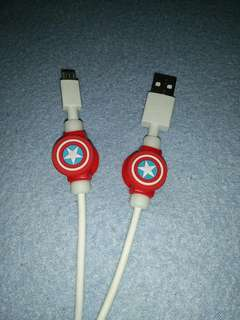 Captain America Cable Protector