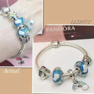 Pandora Rainbow Bracelet Set
