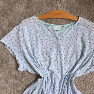 Cropped Pajama Top