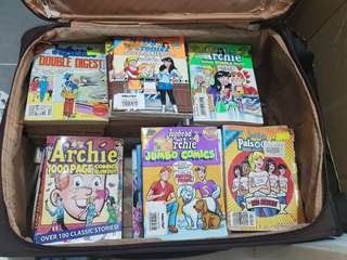 Incredible Variety Stock of Archie Comics