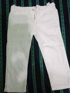 Snoopy White Pants