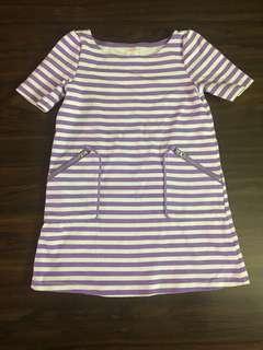Gymboree Purple Stripes Dress