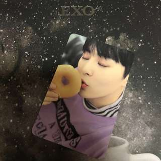 EXO Xiumin 小卡$65 連專+海報$100