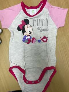 Fox Minnie Mouse romper