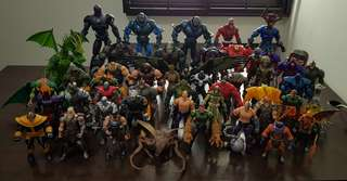 Marvel Legends Build a Figure BAF lot | 50 BAF plus freebies