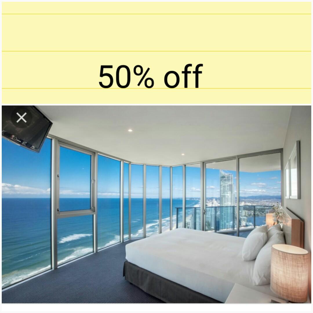 50 % off  Hilton Surfers Paradise